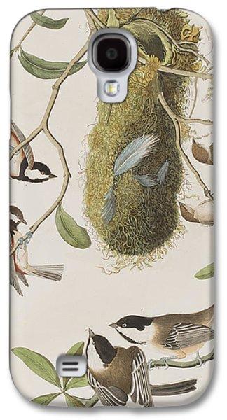 Titmouse Galaxy S4 Case - Titmouses by John James Audubon