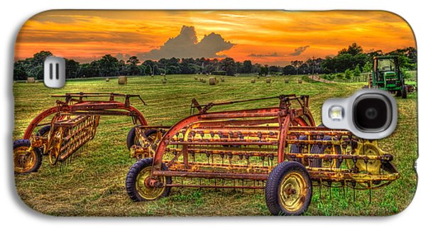 To Be Continued Hayfield Sunset Galaxy S4 Case