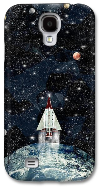 To Boldly Go Galaxy S4 Case by Bri B