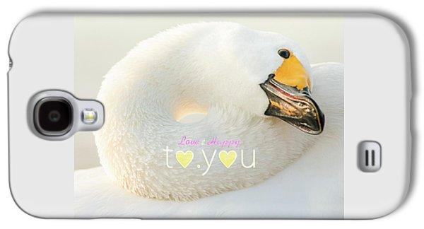 To You #001 Galaxy S4 Case by Tatsuya Atarashi