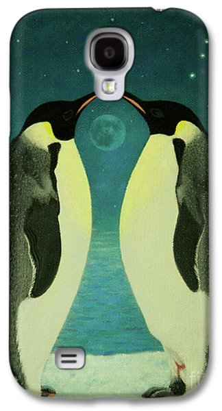 Together Under The Moon Galaxy S4 Case by Shelley Irish