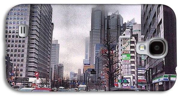 Tokyo Cloudy Galaxy S4 Case by Moto Moto