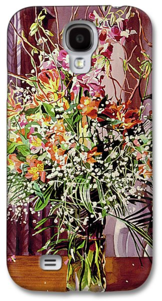 Tokyo Orchid Arrangement Galaxy S4 Case