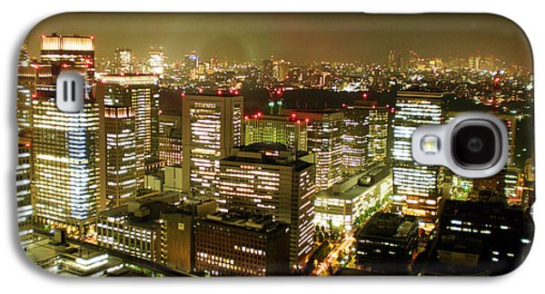 Tokyo Skyline Galaxy S4 Case by Nancy Ingersoll