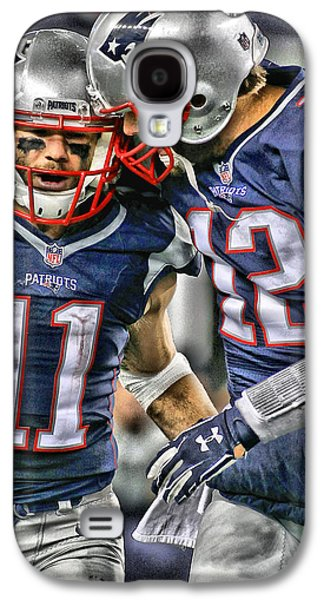 Tom Brady Art 1 Galaxy S4 Case