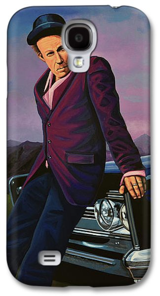 Tom Waits Galaxy S4 Case by Paul Meijering