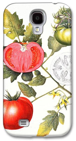 Tomatoes Galaxy S4 Case by Margaret Ann Eden