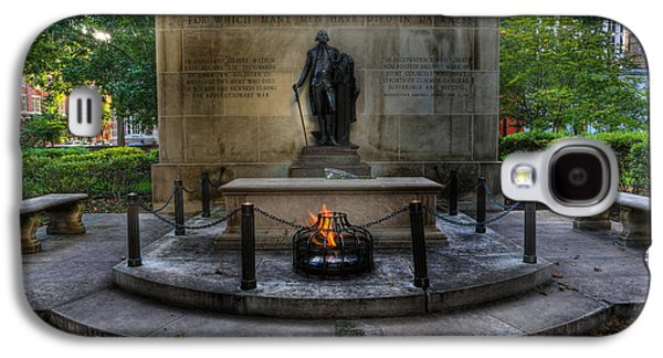 Tomb Of The Unknown Revolutionary War Soldier - George Washington  Galaxy S4 Case by Lee Dos Santos