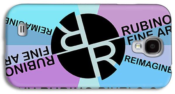 Tony Rubino Fine Art Logo With Website Galaxy S4 Case