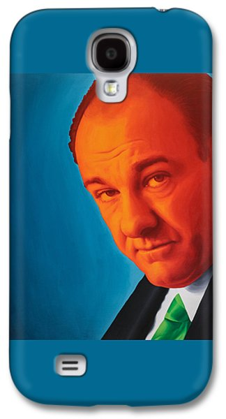 Tony Soprano Galaxy S4 Case by Ellen Patton