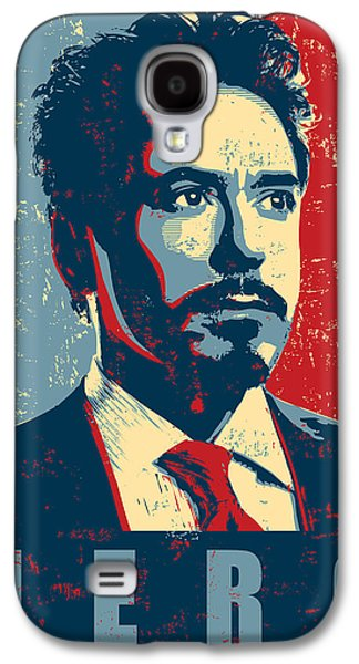 Tony Stark Galaxy S4 Case