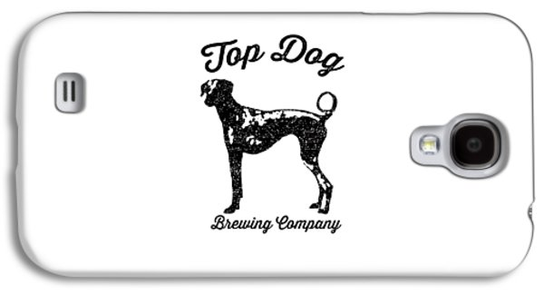 Top Dog Brewing Company Tee Galaxy S4 Case by Edward Fielding