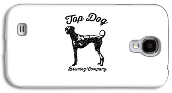 Beer Galaxy S4 Case - Top Dog Brewing Company Tee by Edward Fielding