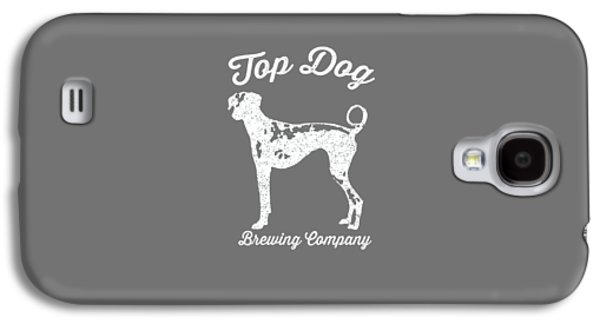 Top Dog Brewing Company Tee White Ink Galaxy S4 Case