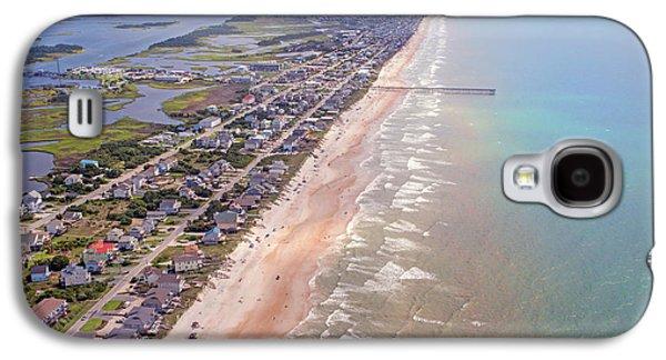 Topsail Buzz Surf City Galaxy S4 Case by Betsy Knapp