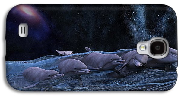 Topsail Starry Night  Galaxy S4 Case by Betsy Knapp