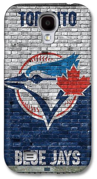 Toronto Blue Jays Brick Wall Galaxy S4 Case by Joe Hamilton
