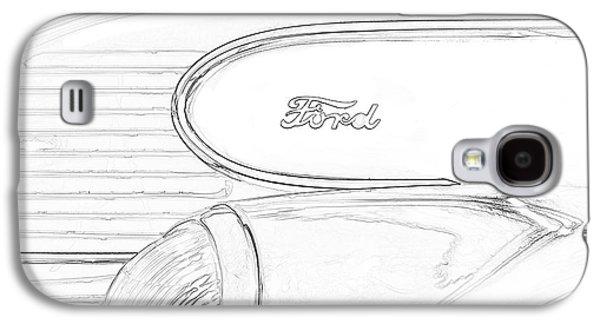 Torpedo Ford Galaxy S4 Case