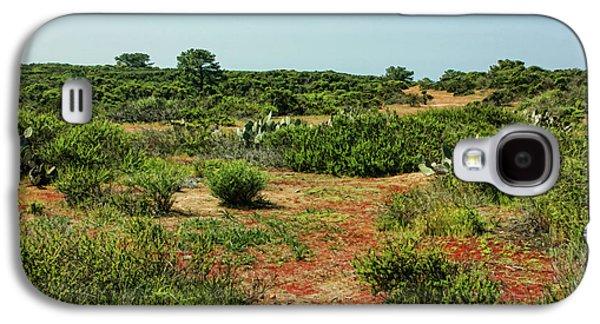 Torrey Pines California - Colourful Verdant And Arid Juxtaposition Galaxy S4 Case