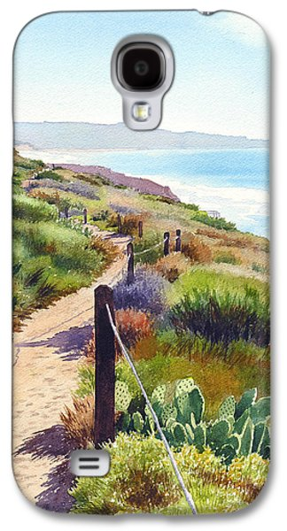 Planets Galaxy S4 Case - Torrey Pines Guy Fleming Trail by Mary Helmreich