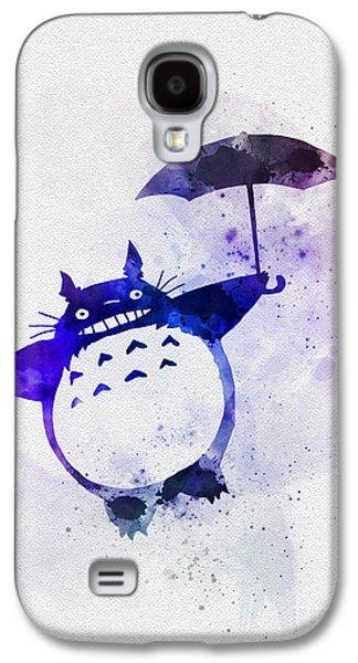 Totoro Galaxy S4 Case by Rebecca Jenkins