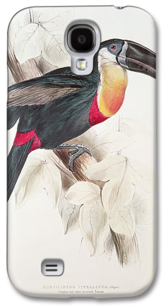 Toucan Galaxy S4 Case by Edward Lear