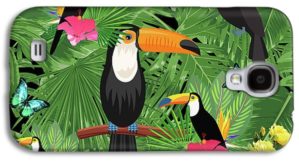Toucan Tropic  Galaxy S4 Case