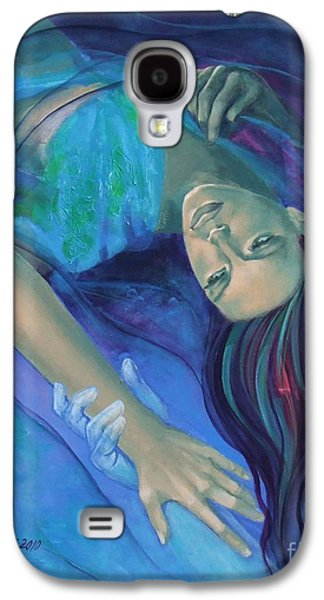 Touching The Ephemeral Galaxy S4 Case by Dorina  Costras