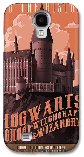 Tour Hogwarts Castle Galaxy S4 Case by Christopher Ables