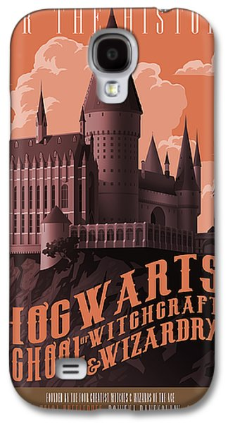 Wizard Galaxy S4 Case - Tour Hogwarts Castle by Christopher Ables