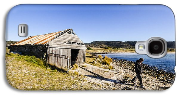 Tourist In East Coast Tasmania Galaxy S4 Case by Jorgo Photography - Wall Art Gallery