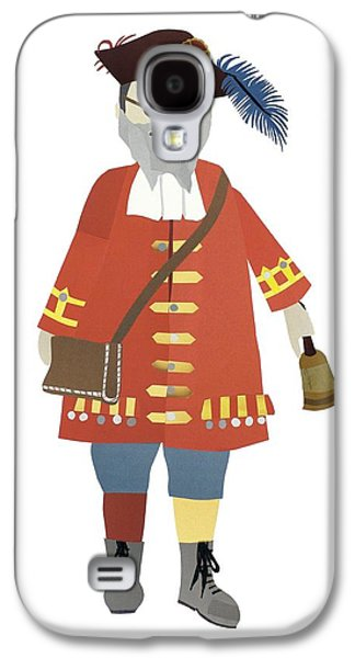 Town Crier Galaxy S4 Case by Isoebl Barber