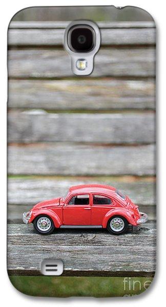 Toy Car On A Bench Galaxy S4 Case