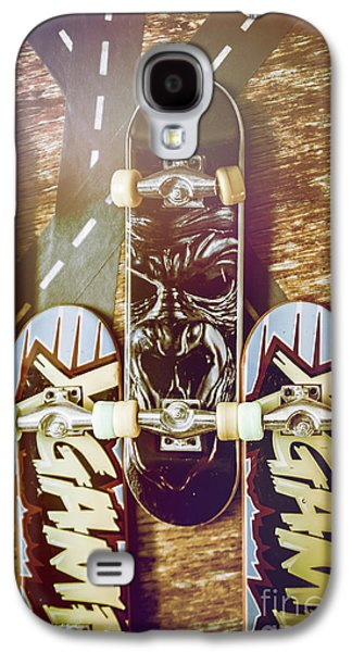 Toy Skateboards Galaxy S4 Case by Jorgo Photography - Wall Art Gallery