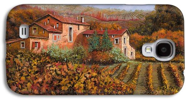 tra le vigne a Montalcino Galaxy S4 Case by Guido Borelli
