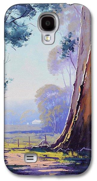 Kangaroo Galaxy S4 Case - Track To The Farm by Graham Gercken