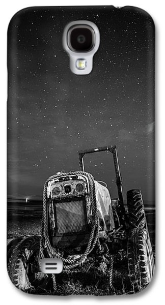 Tractors Galaxy S4 Case - Tractors At Night  by Mark Mc neill
