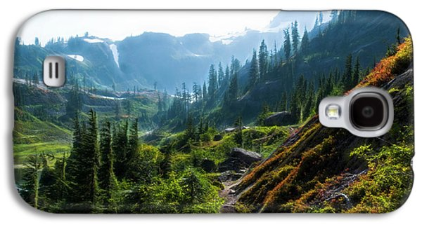 Trail In Mountains Galaxy S4 Case
