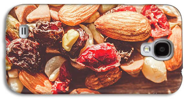 Trail Mix High-energy Snack Food Background Galaxy S4 Case by Jorgo Photography - Wall Art Gallery
