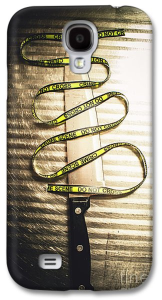 Trail Of Clues Galaxy S4 Case