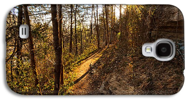 Trail Of Happiness - Blowing Springs Trail Arkansas Galaxy S4 Case by Lourry Legarde