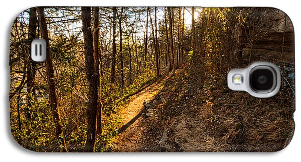 Trail Of Happiness - Blowing Springs Trail Arkansas Galaxy S4 Case