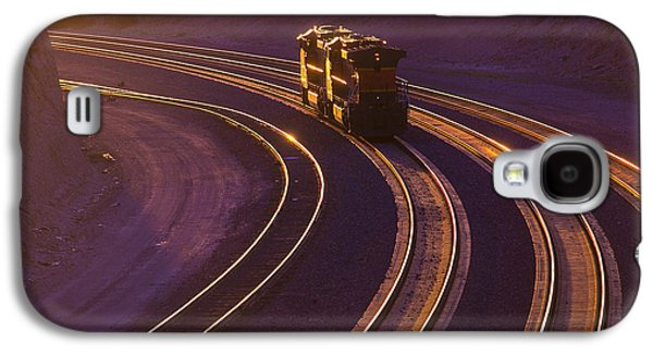 Train Galaxy S4 Case - Train At Sunset by Garry Gay