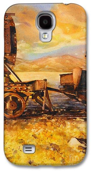 Train Cemetary- Salar De Uyuni, Bolivia Galaxy S4 Case by Ryan Fox