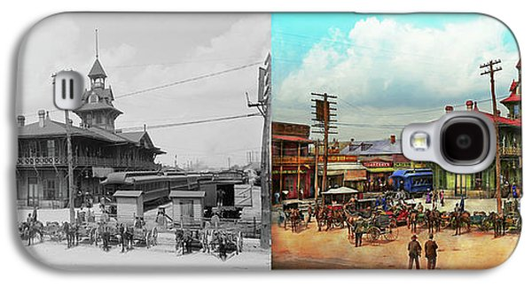 Train Station - Louisville And Nashville Railroad 1905 - Side By Galaxy S4 Case
