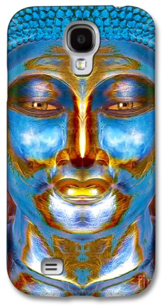 Tranquil Buddha Galaxy S4 Case by Khalil Houri