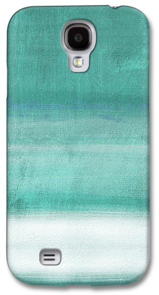 Tranquil Horizon- Art By Linda Woods Galaxy S4 Case by Linda Woods