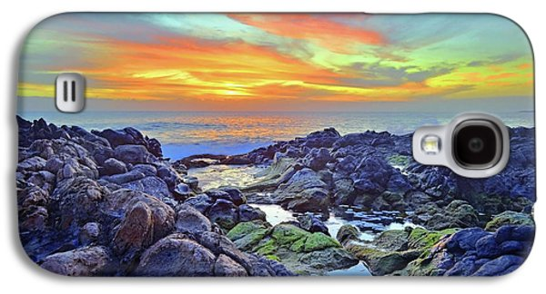 Tranquil Mololkai Sunset Galaxy S4 Case by Tara Turner