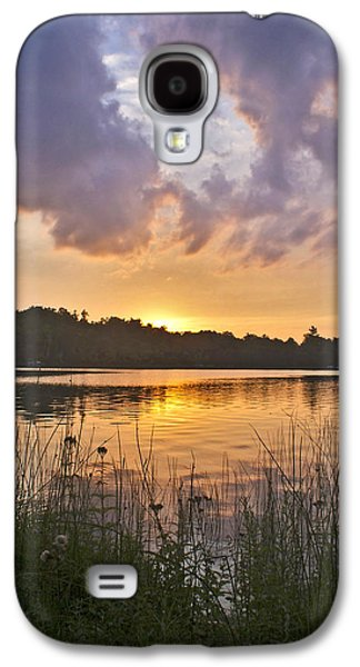 Tranquil Sunset On The Lake Galaxy S4 Case