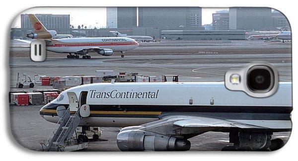 Trans Continental Douglas Dc-8-61f, Lax, N812ck Galaxy S4 Case by Wernher Krutein